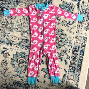 Hanna Andersson organic pjs - size 80
